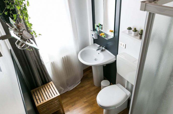 Bagno della Camera Doppia B&B Treviso Appartamento Castelmenardo Treviso